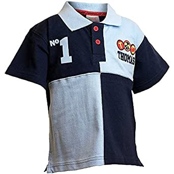 Thomas The Tank Engine Boys Number 1 Polo Shirt - Size 1 - 2 Years