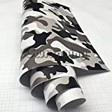 CVANU® 1X1 foot Military camouflage Car Dashboard Trim Vinyl Decal (Military camouflage)