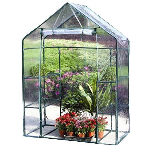 Outdoor Plastique Mini Walk En Serre Jardin Plantes Fleurs PVC Cover Small