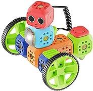 Robo Wunderkind - Set di robotica modulare - Education Kit - 8 mattoncini e 15 Parti - Gioco STEM programmabil