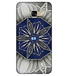 For Samsung Galaxy C5 beautiful flower ( ) Printed Designer Back Case Cover By CHAPLOOS
