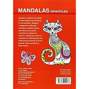Mandalas infantiles : para potenciar la concentración y la relajación