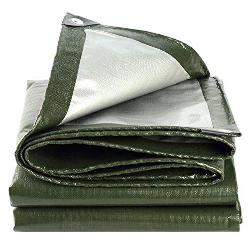 Ajzxhe tela cerata spessa, parapioggia per copertura camion, tettoia autoportante coibentata, alte temperature e anti-invecchiamento, tenda (colore : a, dimensioni : 2 x 3m)