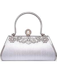 Taschen Symbol Der Marke Luxus Abendtasche Handtasche Perlen Kristall Tasche Schultertasche Brauttasche Braut-accessoires