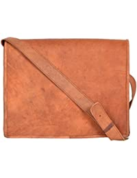 Leathercraft Unisex Sling Bag (Brown, ME30), Size 14 Inches * 2.3 Inches * 11.8 Inches, Goat Leather, Useful For...