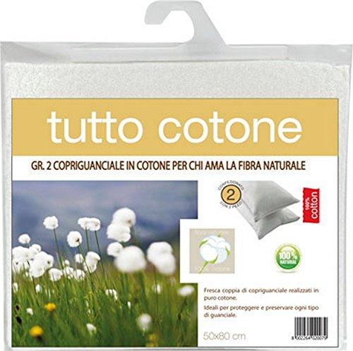 Azard - Demaflex Copriguanciale Tela Cotone Con Cerniera Cuscino Letto Camera