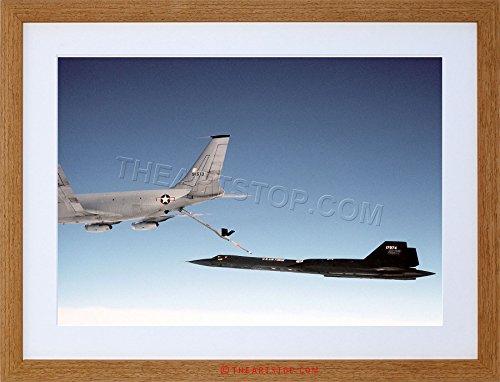 WAR MILITARY PLANE TANKER JET USAF KC135Q FRAMED PRINT - Wars Tanker