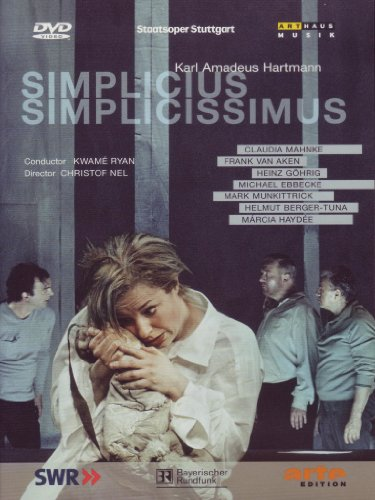 Preisvergleich Produktbild Karl Amadeus Hartmann - Simplicius Simplicissimus