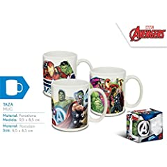 Idea Regalo - Disney - Avengers Tazza in Ceramica 3 Modelli Assortiti, mv15386