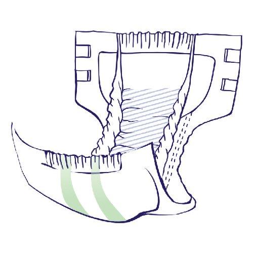 Windelhosen für Erwachsene Super Seni Trio Large Gr. 3 (1×10 Stk.) - 2