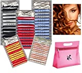 Dauerwellwickler Set 60 Stck. - 2-farbig + FP Kosmetiktasche