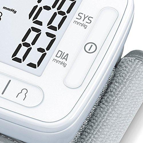 Sanitas SBC 22 Handgelenk-Blutdruckmessgerät (vollautomatische Blutdruck- und Pulsmessung, Warnfunktion bei möglichen Herzrhythmusstörungen) - 5