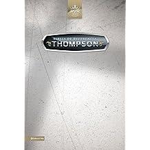 Biblia de referencia Thompson: Reina - Valera 1960, Negro / Black, Bonded Leather