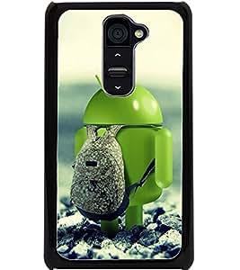 ColourCraft Funny Image Design Back Case Cover for LG G2