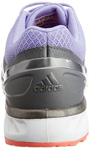 adidas Damen Falcon Elite 3 Laufschuhe Rosa/Weiß