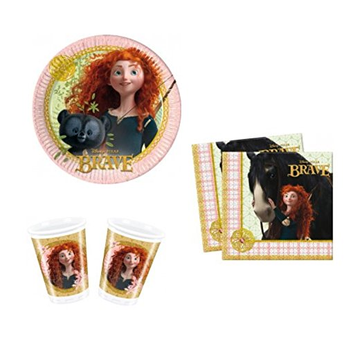 (Disney Princess Merida Brave Party Set Geburtstag Deko 16 Kinder)