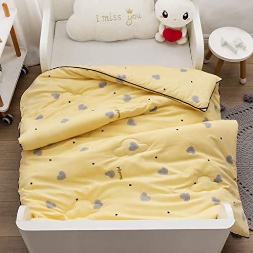 COTTONN Baumwolle Cartoon Erdbeere Karotte Tier 100% Baumwolle Abdeckung Bettwäsche Set for Kinder Jugendliche Jungen Mädchen haben Tröster 47