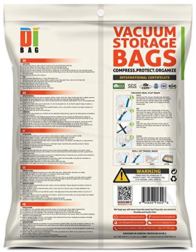 Dibag ES 15P Combo Set   Juego de 15 bolsas de almacenaje al vacío