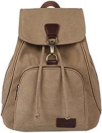 Preisvergleich für HugeStore Damen Frauen Vintage Leinwand Rucksäcke Rucksack Daypack Schultasche Reisetasche Schulrucksack Backpack