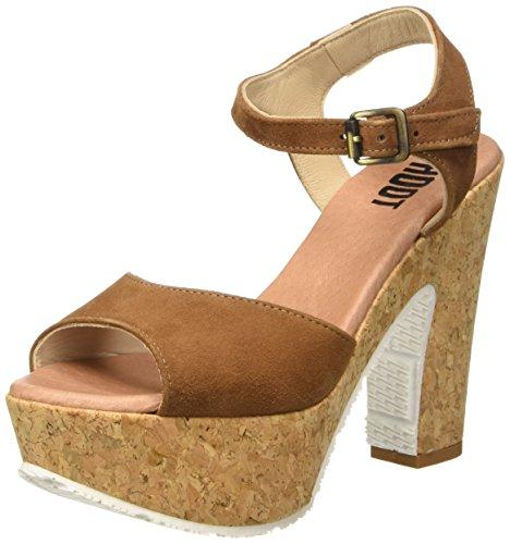 22426-21, Zapatos de Tacón para Mujer, Rojo (Chili Patent 520), 37 EU Tamaris