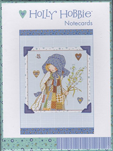 holly-hobbie-notecards-10-notecards-2-designs-blank-with-envelopes