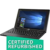 (Certified REFURBISHED) Acer Switch SW110-1CT 10.1-inch Laptop (Intel Atom Quad Core Processor/2GB/32GB/Windows 10/Integrated Graphics), Black