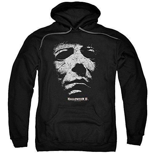 2Bhip Halloween II Horror Slasher Movie Series Mask Adult Pull-Over Hoodie