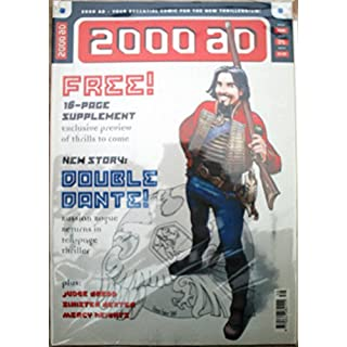 2000AD Prog. 1139 with Thrills Of The Future supplement 7th April 1999