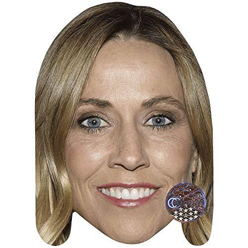 Celebrity Cutouts Sheryl Crow (Smile) Maske aus Pappe