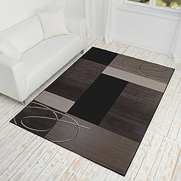 Teppich grau kurzflor  Teppich Kurzflor grau- verschiedene Maße erhältlich: Amazon.de ...