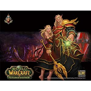 World of warcraft compad vario blutelfe tapis de souris