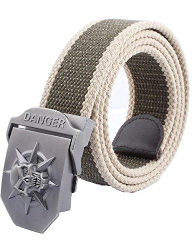 menschwear-mens-adjustable-cotton-canvas-belt-metal-buckle-military-style-45-120cm-grey-stripe
