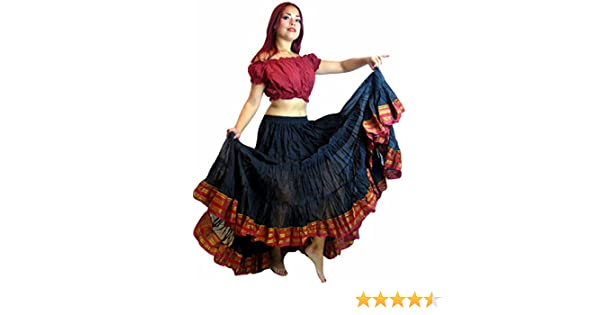 49eabc43265 Dancers World Ltd (UK Seller) 25 YARD GYPSY Bellydance Skirt