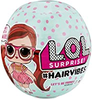 L.O.L. Surprise! #Hairvibes Dolls with 15 Surprises & Mix & Match Ha