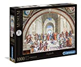 Clementoni- Vatican Puzzle-La Scuola di Atena-1000 Pezzi, Multicolore, 39483