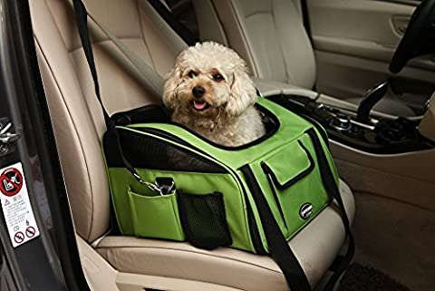 Kaka mall Safety Travel Car Cat Dog Seat Carrier Airline