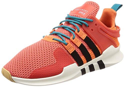 adidas Herren EQT Support ADV Summer Gymnastikschuhe, Trace Orange S18/white Tint S18/gum 3, 44 2/3 EU
