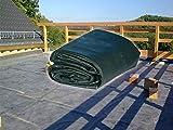 Rosis Garten EPDM Folie 3,05 Meter x 6 Meter 1,14mm Stärke für Carport, Garage, Dach, Dachbegrünung