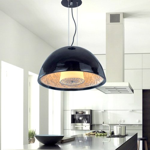 LightInTheBox moderne 40 W max hängel Lampe suspension Lampe suspension en noir abat-jour pour étude chambre salon salle à manger
