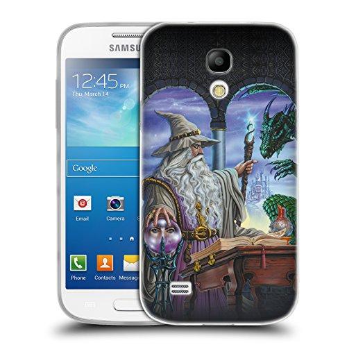 Offizielle Ed Beard Jr Botschafter Drachen Von Dem Zauberer Fantasie Soft Gel Hülle für Samsung Galaxy S4 mini I9190