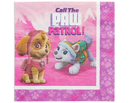 Amscan International 51166533cm Paw Patrol Serviette (Halloween Specials Lunch)