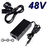 TOP CHARGEUR ® Netzteil Netzadapter Ladekabel Ladegerät 48V für Switch Prosafe Netgear FS108P PoE