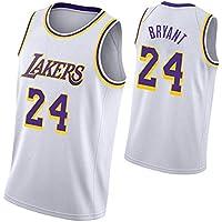 Camiseta de Baloncesto Kobe Bryant para Hombre, Los Angeles Lakers 8# 24# Camiseta Retro Uniforme de Baloncesto Deportivo Edición Conmemorativa, Camiseta de Baloncesto Bordada Unisex Chaleco, No te