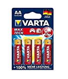 varta 4706 Max Tech Batterie, AA, 4er pack