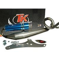 Turbo Kit Gmax 4T Tubo de escape deportivo para Baotian BT49QT de 9s1, BT49QT de