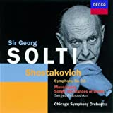 Chostakovitch : Symphonie N° 15 / Moussorgsky : Chants et danses de la Mort