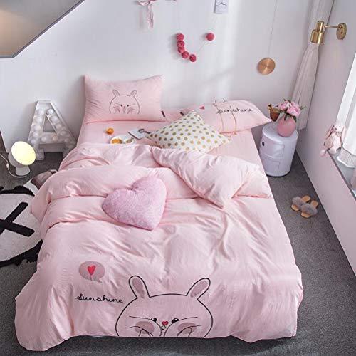 TTOOWW Conjunto Cuatro Piezas Lovely Totoro Bedding