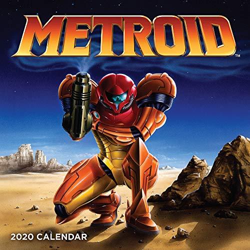 Nintendo: Metroid 2020 Wall Calendar