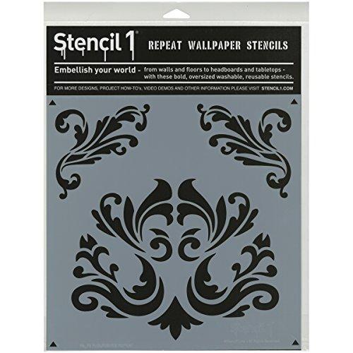 Stencil1Kunststoff 27,9cm x 11-inch-Flourishes
