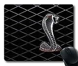 Gaming Maus Pad, individuelle Mousepads Ford Shelby GT500Logo natur rutschfestem Eco Gummi Durable Design Computer Sch